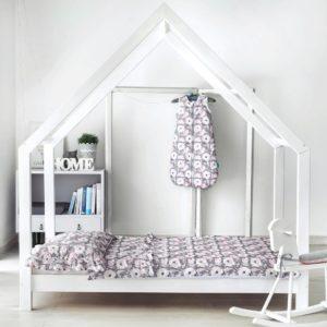 hausebett łóżko domek Holzbett