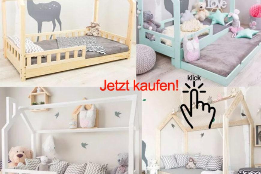 Kinderbetten, die anders sind als alles Andere