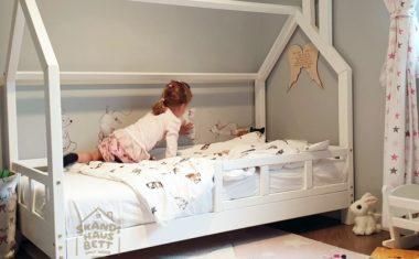 Ein Hausbett – das perfekte Möbelstück für ein Mädchenzimmer