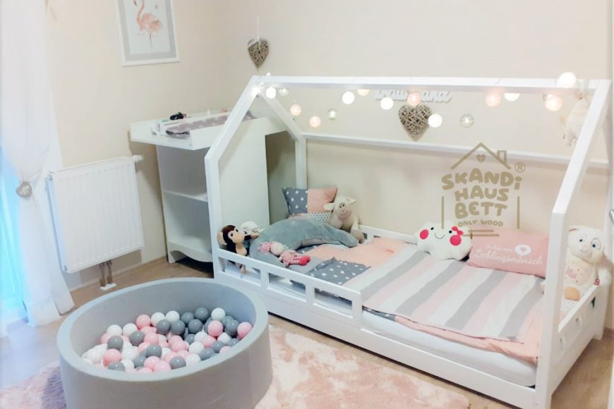 Suchen Sie ein Kinderbett? Wählen Sie ein Hausbett!
